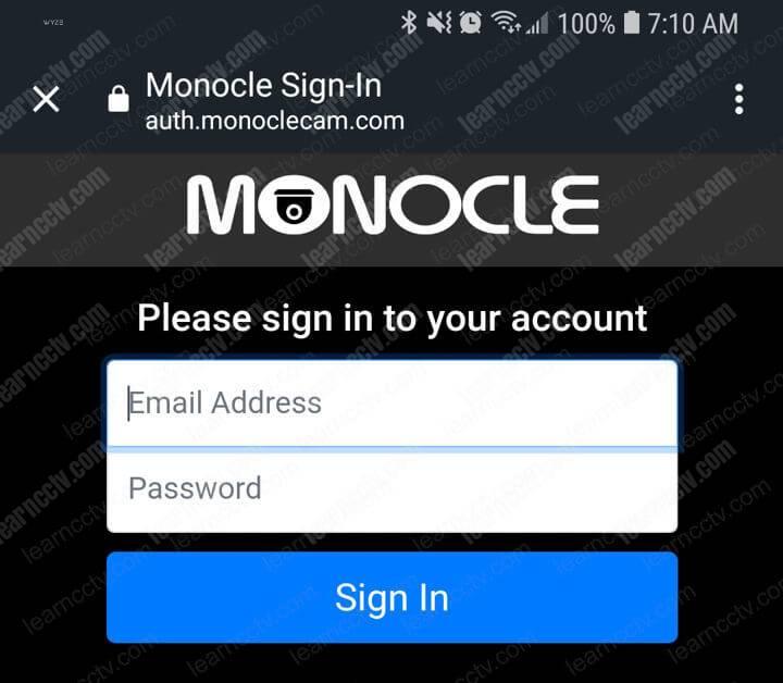 Alexa Skill Monocle Link Account