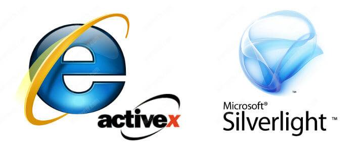 Internet Explorer Active X and SilverLight