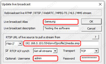 Unteal Media Server New Broadcast Rebroadcast Samsung profile 2