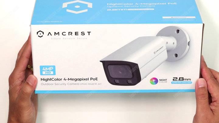 Amcrest Bullet Camera box