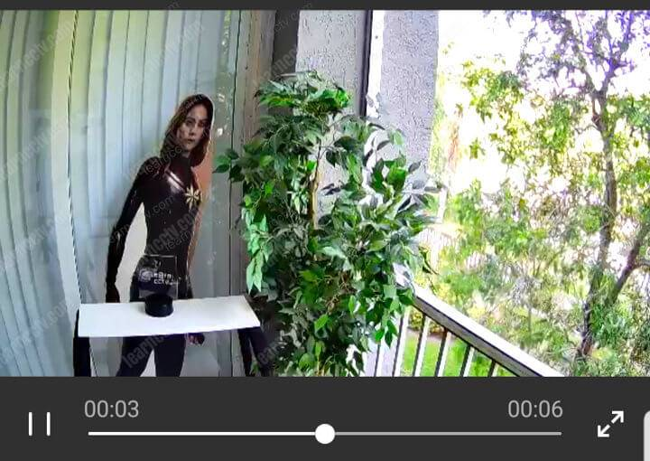 A-zone camera Live video stream