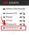 Hikvision NVR hiển thị Channel-zero