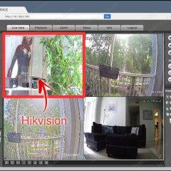 Lorex NVR cameras online