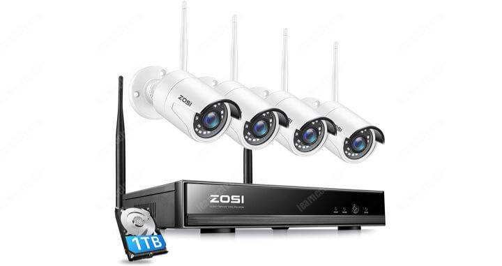 Zosi Wireless Security Camera Kit