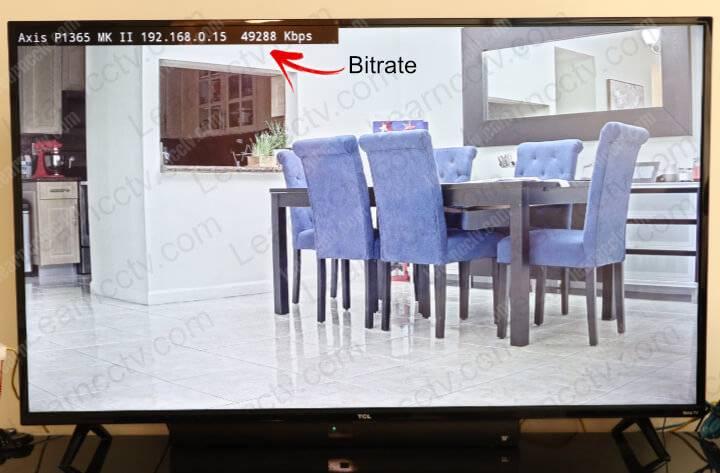 Axis camera on Roku TV
