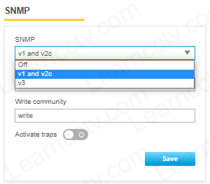 SNMP enabled on Axis camera