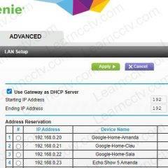 Netgear router shows hostame